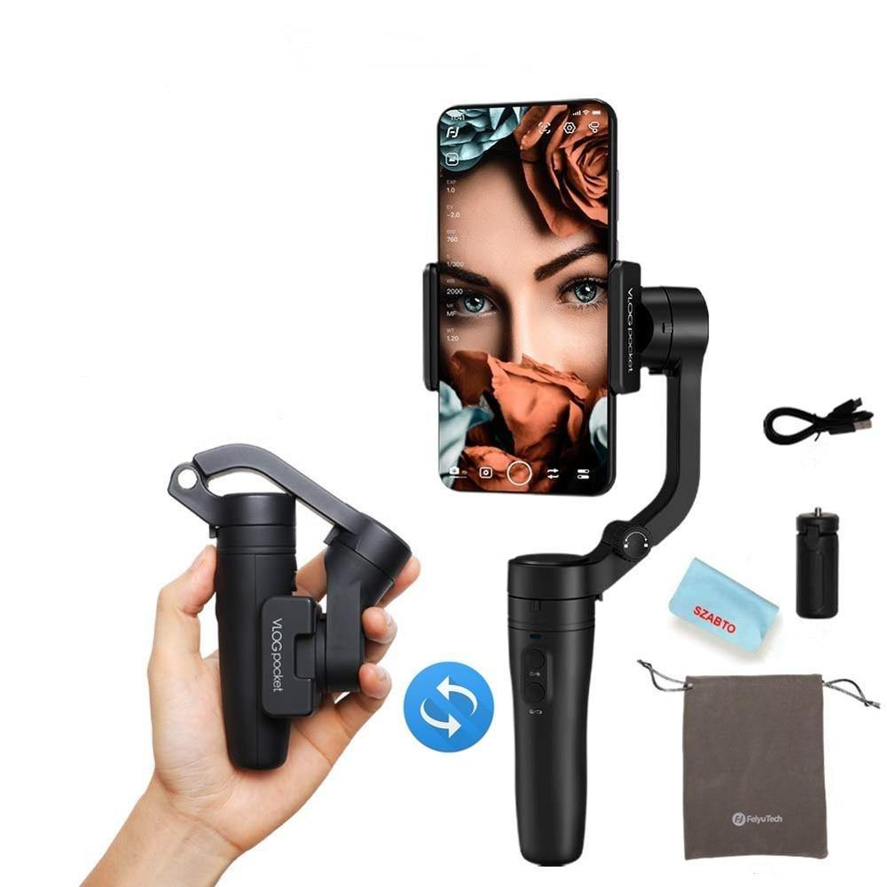 Vlog 3-Axis Foldable Smartphone Gimbal Stabilizer for Phone - iDigiBay