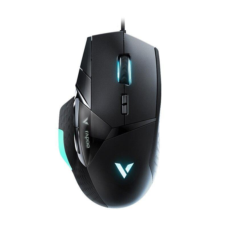 Rapoo VT900 IR Optical Wired Gaming Mouse with 16000 DPI Adjustable for Gamer PUBG Computer Mouse - iDigiBay