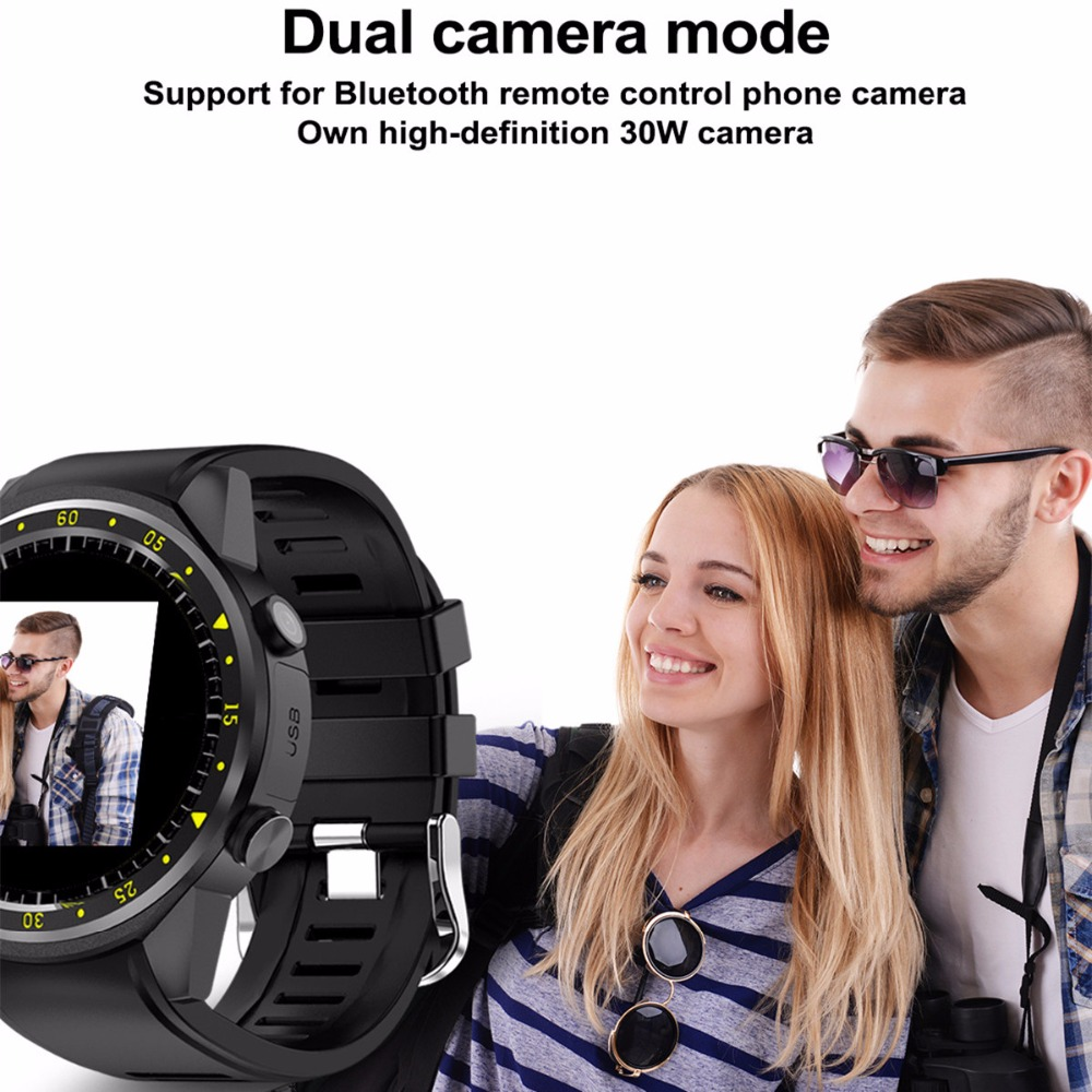 Sports Pedometer GPS Smart Watch with Camera Support - iDigiBay