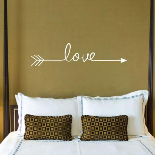 Multiple Color Love Arrow Wall Vinyl - Mary's Faith