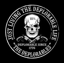 Just Living The Deplorable Life. Tee - Mary's Faith