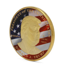 Donald Trump President Commemorative Coin - Mary's Faith