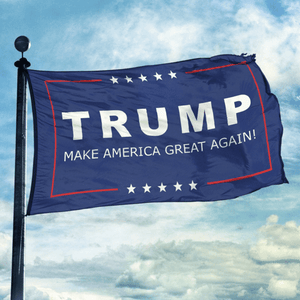 Trump Flag - Make America Great Again! - Mary's Faith