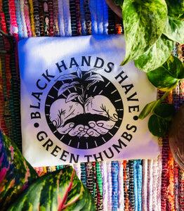 [Pre-Order] Black Hands Have Green Thumbs Tee