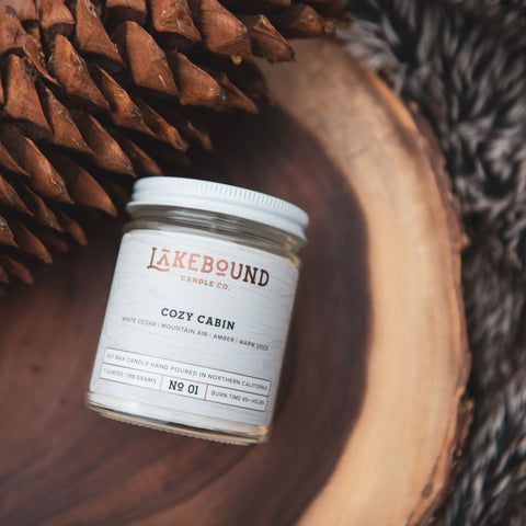 Cozy Cabin Soy Candle