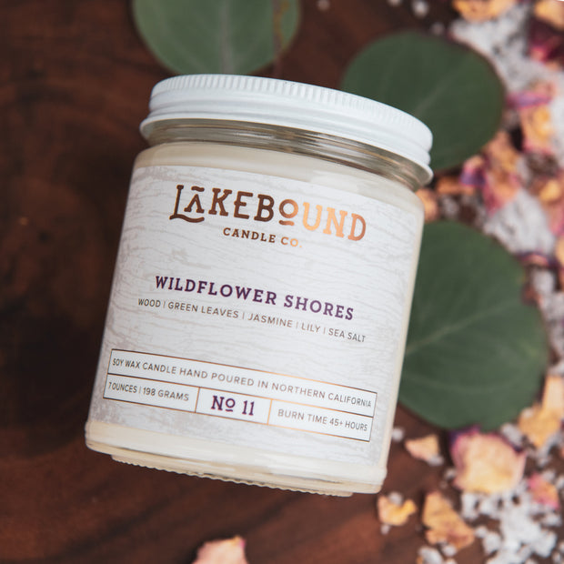 Wildflower Shores Soy Candle