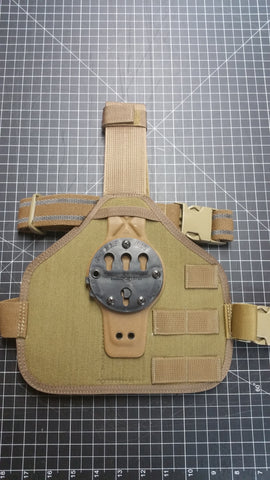 Gcode RTI Drop Leg Panel with Molle - 2nd Amendment Gun Works