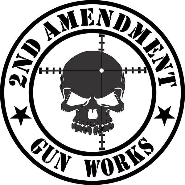 2nd Amendment Gun Works T-Shirt - 2nd Amendment Gun Works