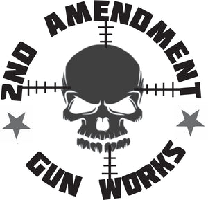 "2nd Amendment Gun Works 6"" Vinyl Decals - 2nd Amendment Gun Works"