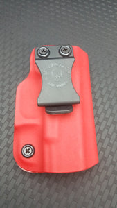 QUICK SHIP 2AGW Right Hand Minimalist IWB for Glock 19/23/32 in Blood Red Kydex - 2nd Amendment Gun Works