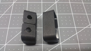 Injection Molded Angled Belt Loops (pair) - 2nd Amendment Gun Works