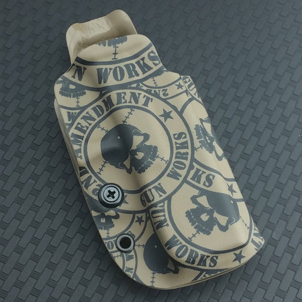 Competition OWB Black Kydex Holster - 2nd Amendment Gun Works