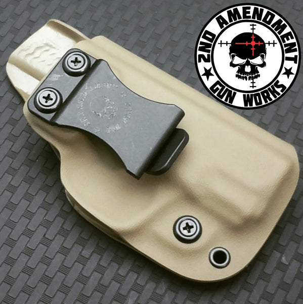 Concealer IWB Solid COLOR Kydex Holster - 2nd Amendment Gun Works