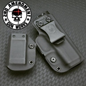 DEEP Conceal Carry Black Kydex Holster Package - 2nd Amendment Gun Works