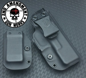 Conceal Carry Black Kydex Holster Package