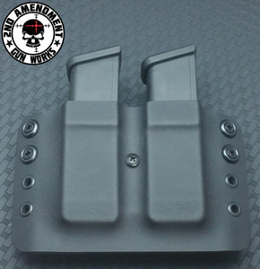 Double Pistol Magazine Carrier OWB - 2nd Amendment Gun Works