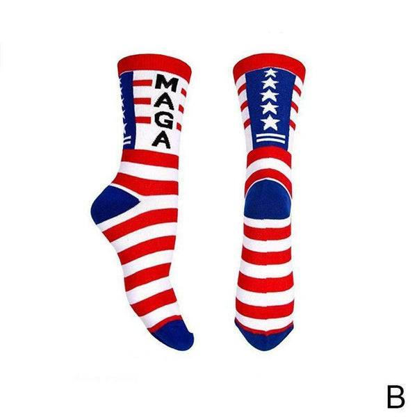 Donald Trump SOCKS Maga Trump Make America Great Again MAGA President USA Patriot 2020 - 2nd Amendment Gun Works