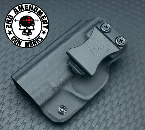 Minimalist IWB Black Kydex Holster - 2nd Amendment Gun Works