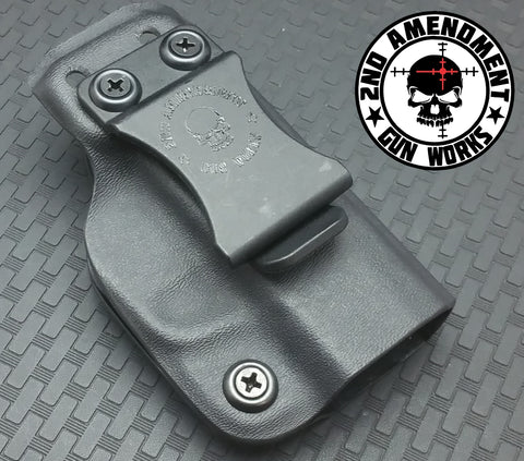 Minimalist DEEP IWB Black Kydex Holster