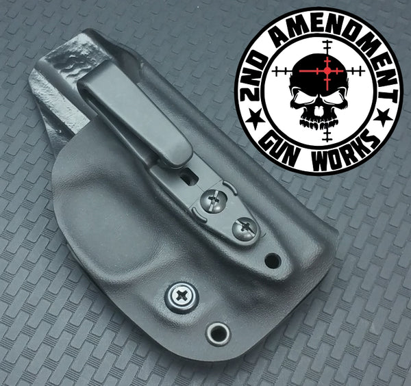 Over Hooker IWB Carbon Fiber & Custom Patterns Kydex Holster - 2nd Amendment Gun Works