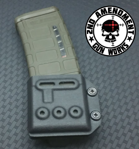 Single Rifle Magazine Carrier OWB / IWB - 2nd Amendment Gun Works