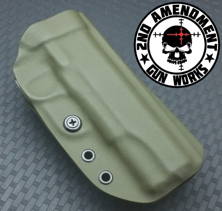 Tek Lok OWB Solid COLOR Kydex Holster - 2nd Amendment Gun Works