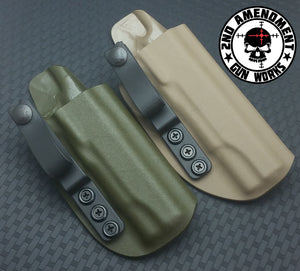 Tuckable IWB Solid COLOR Kydex Holster - 2nd Amendment Gun Works