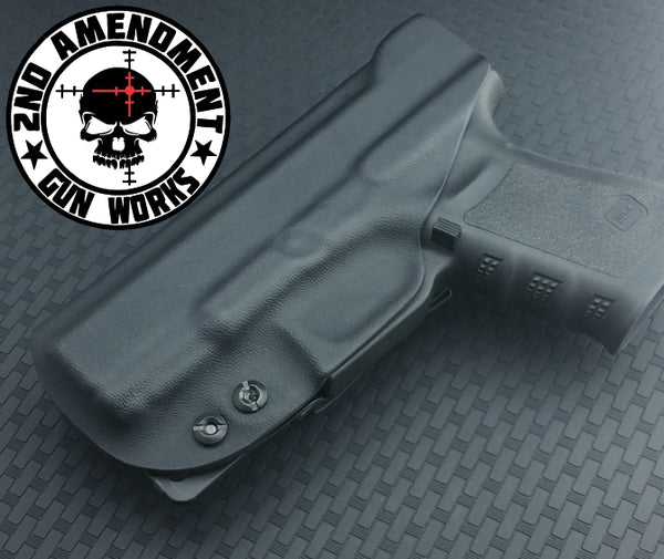 Tuckable IWB Carbon Fiber & Custom Patterns Kydex Holster - 2nd Amendment Gun Works