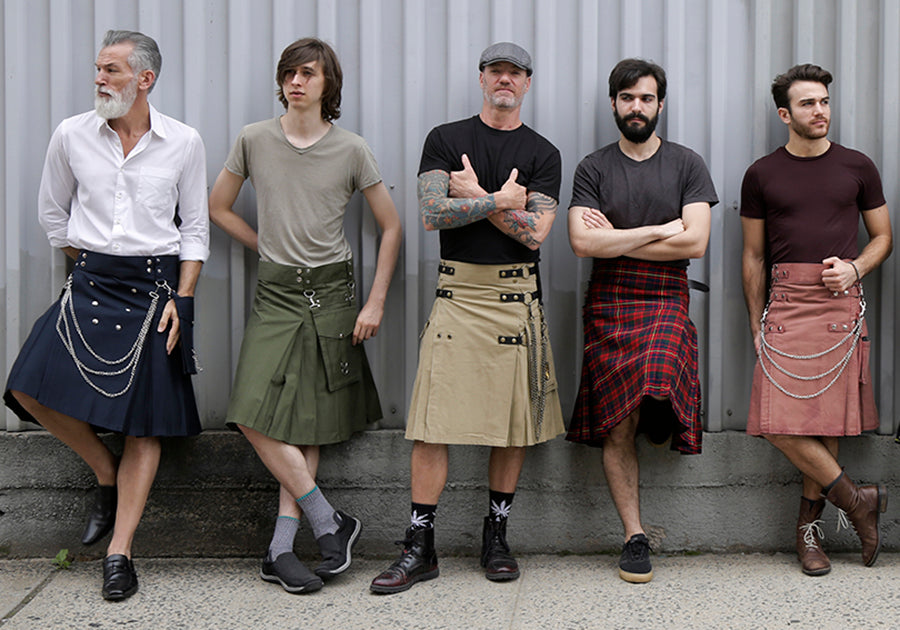 Wearing a Fashion Kilts is a Sign of Confidence