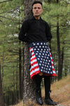 american flag kilt-left