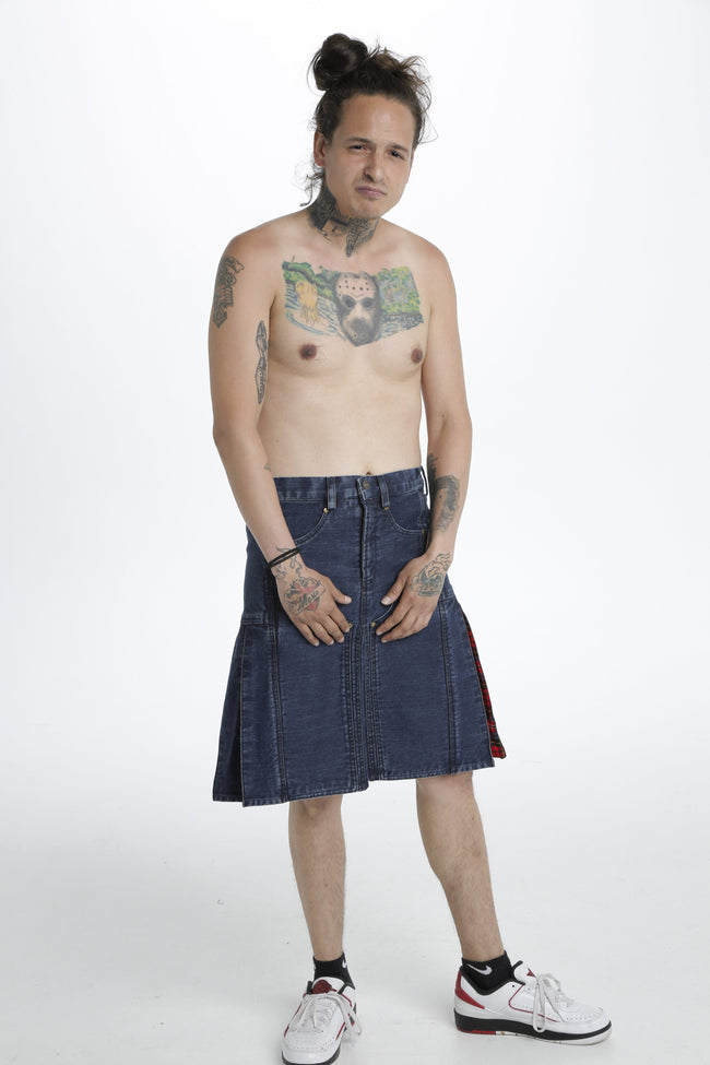 Stylish hybrid kilt