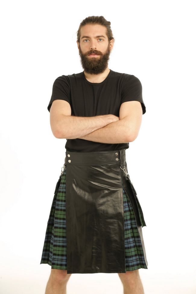 Victory Hybrid Leather Kilt