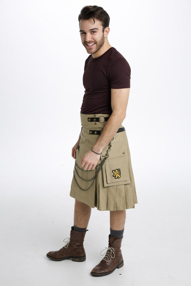 khaki ultimate kilt