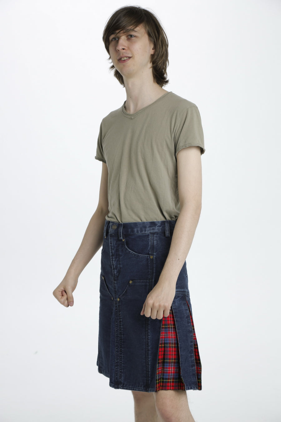 Hybrid Denim Kilt