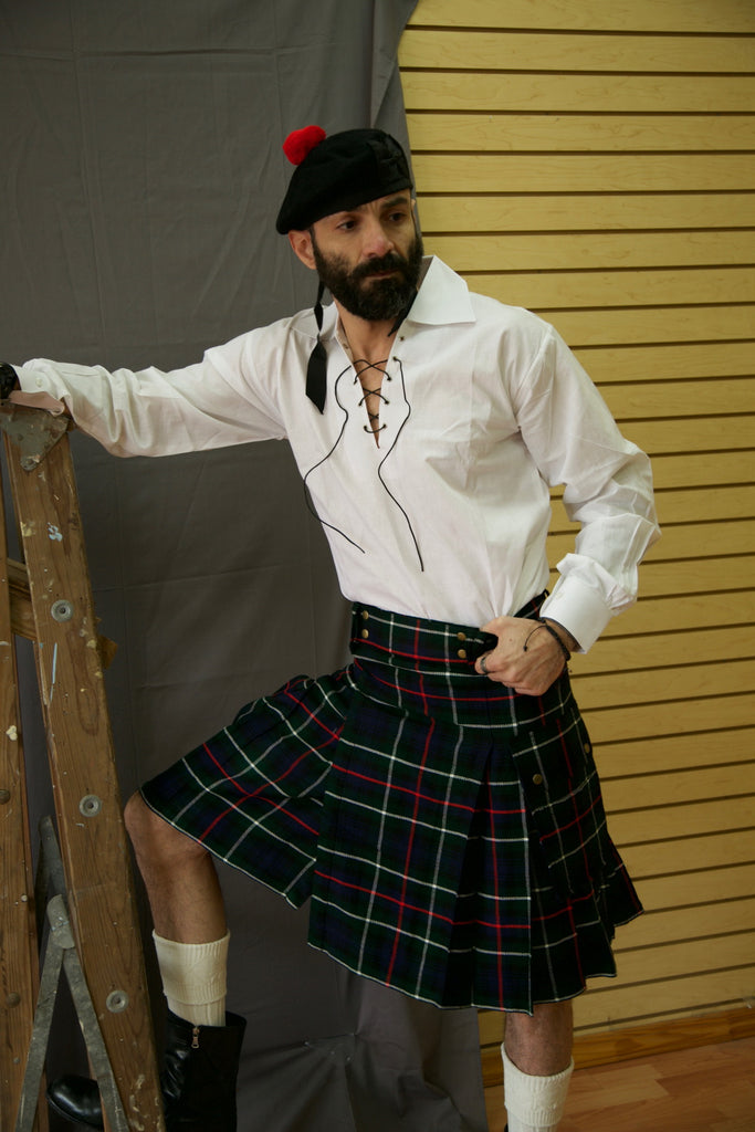 Embrace your Scottish heritage with a contemporary twist on a classic kilt with the Modern Tartan Kilt.