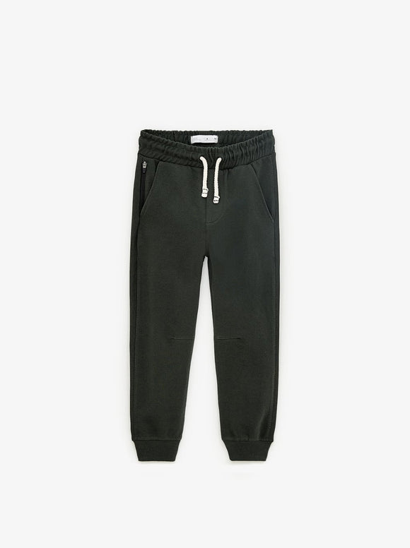 ZR - Green Pique Jogging Trouser