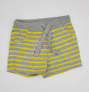 LPLU - Grey Bright Yellow Stripe  shorts