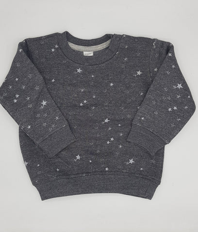 B Club -  All Over Star Print Sweat Shirt
