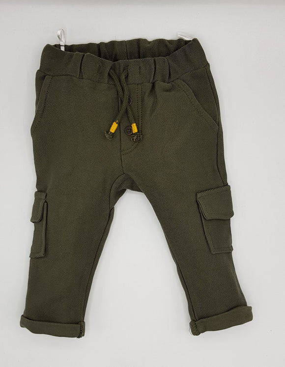ZR - Green Plain Trouser