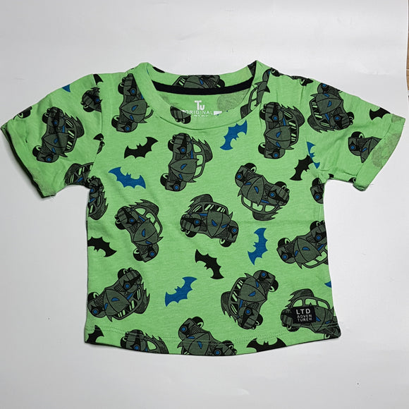 Tu - Green BatMobile T-Shirt