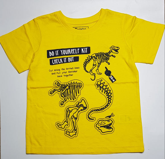 Tough T - Yellow Check it Out T-Shirt