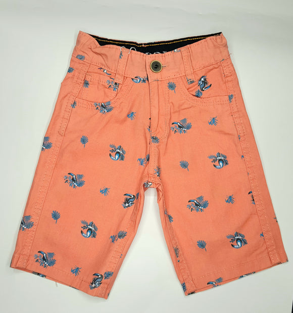 USP - Orange Printed Shorts