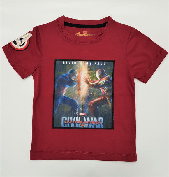Mrvl - Avngr Civil War Glow T-Shirt