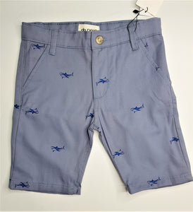 NXT - Grey Shark Cotton Short