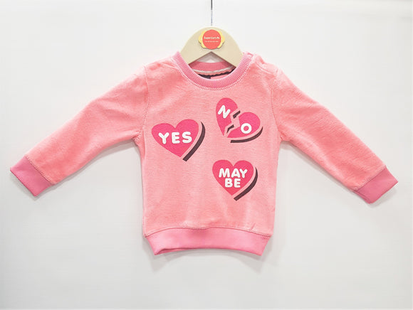 IA  - Light Pink Sweat Shirt