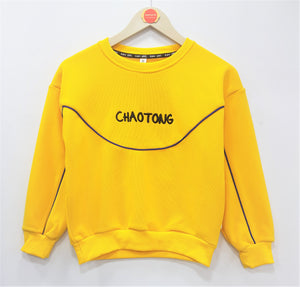 IMPORTED - Yellow Chaotong Sweat Shirt