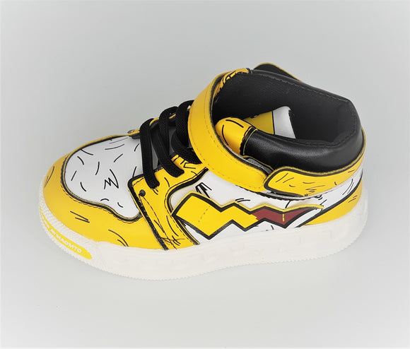 IMPORTED - Yellow Tiger Print Shoes