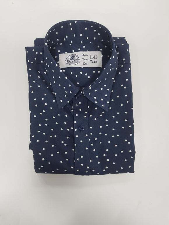Figo Boys - Polka Dot Boys Shirt