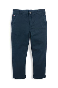 Figo - Navy Blue Chino Pants