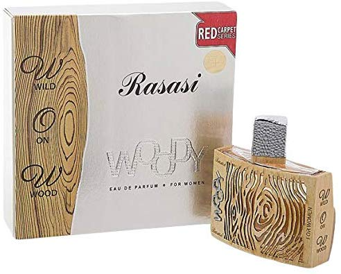 Woody by Rasasi for Women, Eau de Parfume, 55ml